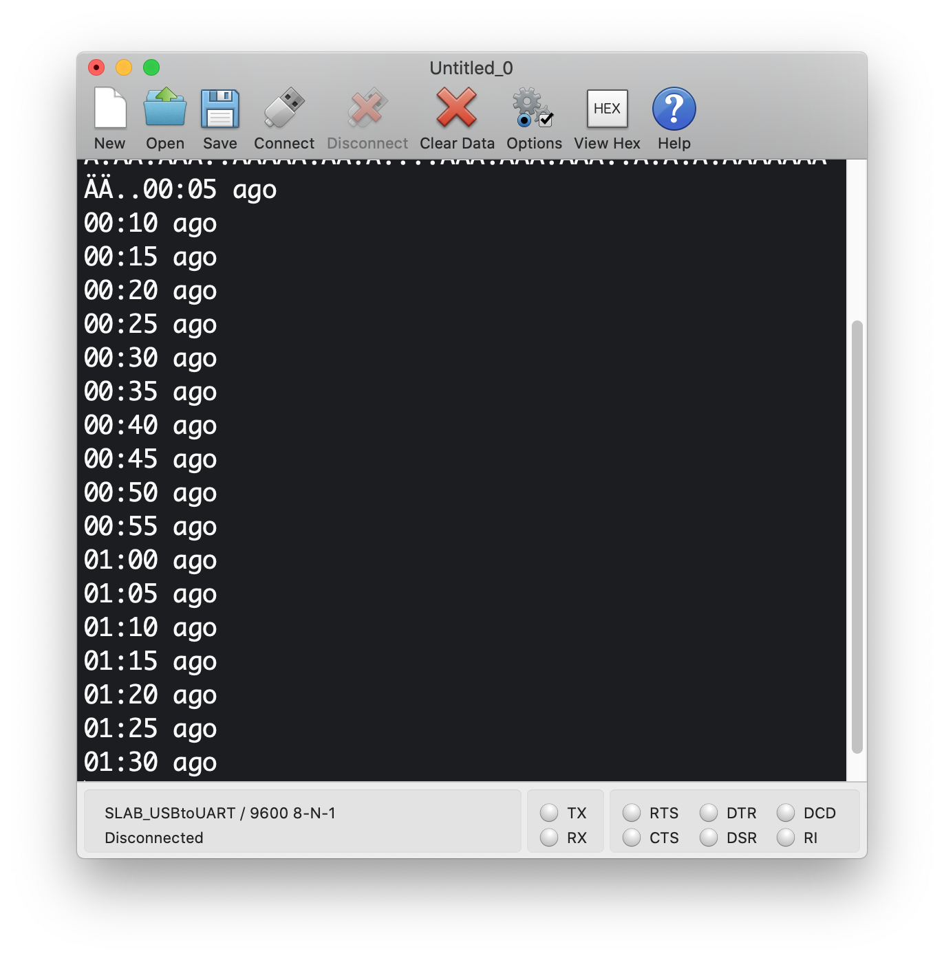 Convert millis() to readable time serial console