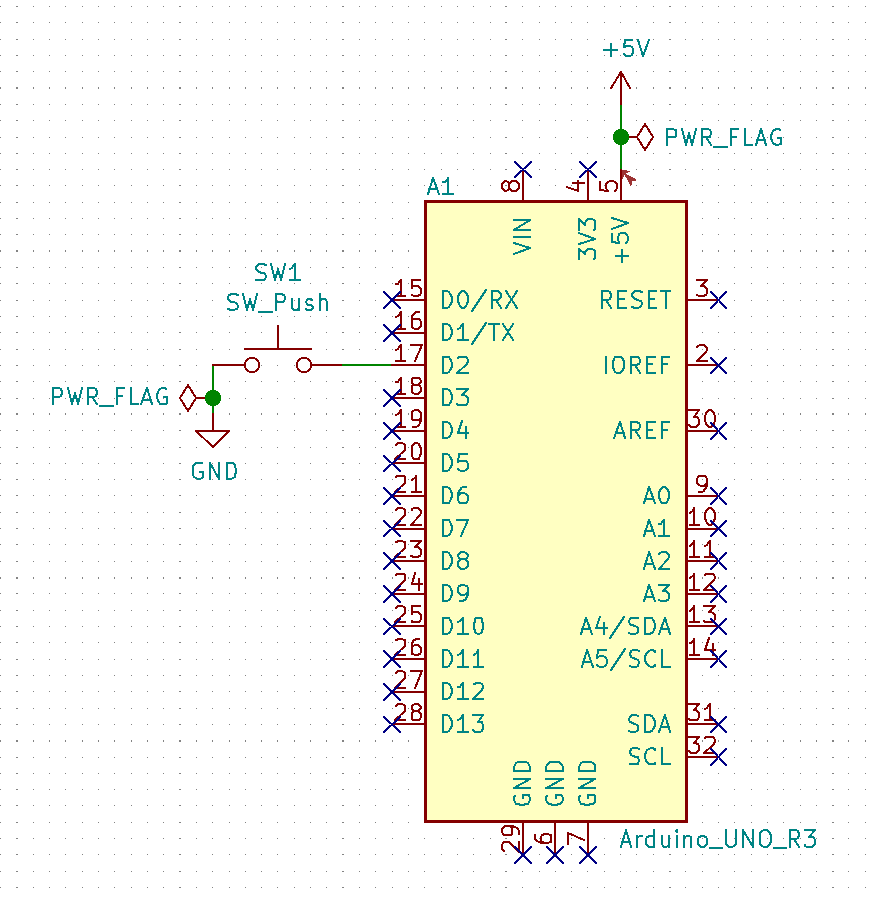 Wakeup on interrupt schematic